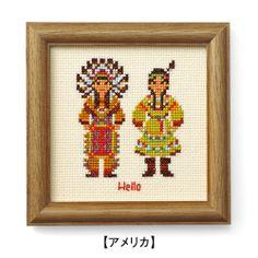 zakka collection [雑貨コレクション]|おうちにいながら旅気分 民族衣装で世界をめぐるクロスステッチフレームの会(16回限定コレクション)|フェリシモ