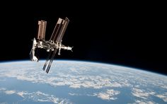 My favorite image of the ISS. Almost unreal. - Imgur