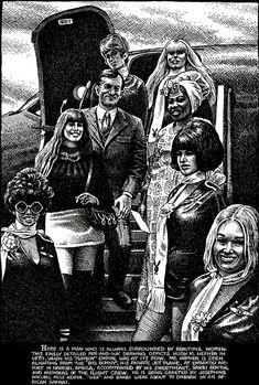 Robert Crumb messo a nudo, l'intervista parte 6 Robert Crumb, Fritz The Cat, Alternative Comics, Cool Sketches, Frank Frazetta, Comic Artist, Art Music, Illustrators, Yorkie