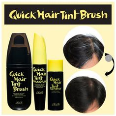Instant Covering Gray Hair- Quick Hair Tint Brush  #Lir