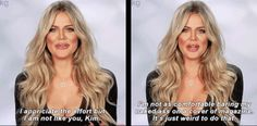 Just a few months ago, Khloé Kardashian was being encouraged by Kim to pose for some ~sexy shoots~ to show off her new body. Khloé wasn't quite so keen. Kardashian Quotes, Kardashian Jenner, Senior Yearbook Quotes, Teen Tv, The Mindy Project, Jenner Style, Tumblr Funny, Funny Memes, Hilarious
