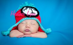 Thing 1 and Thing 2 Inspired Crochet Hats: Newborn, 3 to 6 Months, 6 to 12 Months, 12 to 24 Months, 2T to 4T, Children/ Youth and Adult. $25.00, via Etsy.
