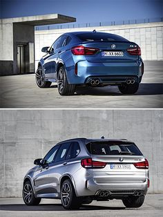 2016 BMW X5 M and X6 M