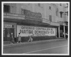 Teatro Puerto Rico frente al Centro de Bellas Artes en Santurce. Ahora un club.