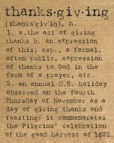 ░ THANKSGIVING ░