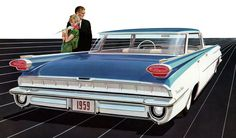 Plan59 :: Classic Car Art :: Vintage Ads :: 1959 Oldsmobile