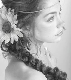 Cottage Hair Salon | how to wear flowers in your hair