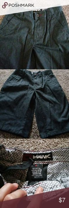 Tony Hawk shorts Dark grey boys shorts.  Excellent condition!!  Practically new.  I don't think my son wore them. tony hawk Bottoms Shorts
