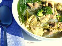 Ostre zielone curry, nasza propozycja na troche inny obiad ... ... dla mniej zaawansowanych wersja zlagodzona smietanka ......