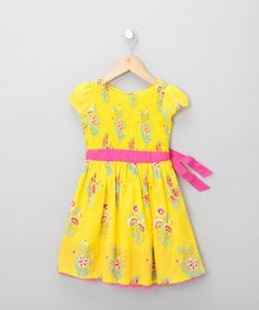Sunshine Floral Dress from gorgeous french company Feu Follet