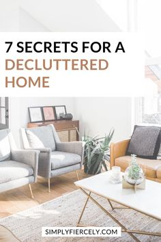 Do you ever wonder how to maintain a decluttered home? Here are a few surprising secrets I've learned about how to clear the clutter for good. This is a must read if you want to declutter your home and you're feeling overwhelmed, or wondering how to get started. #decluttering #minimalisthome Declutter Your Home, Organizing Your Home, Home Organization, Minimalist Lifestyle, Minimalist Living, Dining Bench, Minimalism, The Secret, Interior