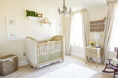 Elegant Beatrix Potter-themed nursery - #babygirl #elegant #nurserydesign