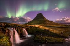 A night to remember at Kirkjufell by CharlermchaiWongmongkoldej 4reigndestinations.tumblr.com #Travel #Mountains