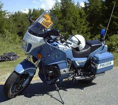 Police Motorcycle Italy