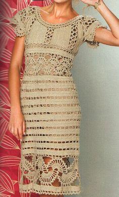 Crochet dress exquisite design PATTERN only by FavoritePATTERNs, $2.50