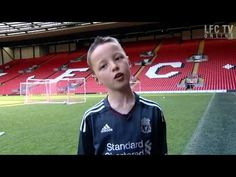 My big day at Anfield
