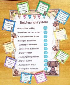 B E L O H N U N G At the beginning of the new school year (already a little ago) I have … - Education Classroom Management Plan, Classroom Organisation, The New School, New School Year, Primary School, Elementary Schools, German Language Learning, Learning Techniques, Teaching Strategies