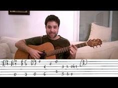 Guitar Tutorial: Piano-Style Blues Turnaround - Lesson w/ TAB