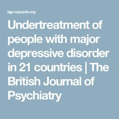 case study of someone with major depressive disorder Major depressive disorder (mdd), also known simply as depression, is a mental disorder characterized by at least two weeks of low mood that is present across most situations.