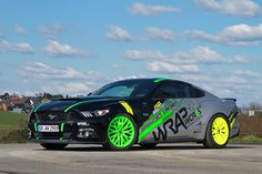 WRAPworks #Ford Mustang GT  #cars #sportscars #musclecars #vinyl #design #style  More from Ford >> http://www.motoringexposure.com/vehicle-make/ford/