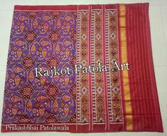 whataps./Purchase. 095864 99183 ♥ Beautiful Patola Semi Double ikat Patola Sarees Traditional Pure Silk #Handloom #Handwoven Patola Sarees  Mr. PRAKASHBHAI PATOLAWALA (RAJKOT PATOLA ART)  for purchases or Inquiry Whataps. 099257 85557 @rajkot_patola_art_silk_sarees  @patola.saree . . . . . . . . . . . . . . . . . .  #patola #rajkotpatola #sarees #saris #indianclothes #womenwear #anarkali #ethnicwear #fashions #womenfashions #bollywood #vogue #indiandesigner #handmade #instalove #insta #hand
