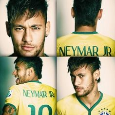 Neymar is adorable. Can't believe he already has a son and a family to take care of. One of my World Cup crush hehe