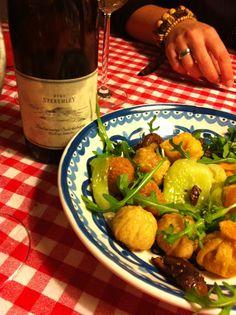 Dim Sum Shi Take Pak Soi en Pinot Gris uit Badacsony