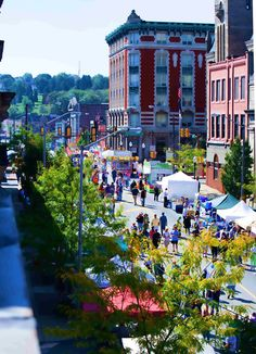 Butler, Pennsylvania. I don't want to live here forever, but I'll admit this is beautiful.
