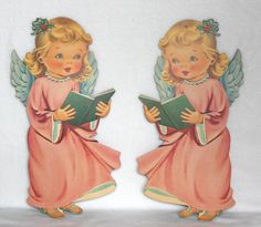 Set of 2-1950 Dennison ChristmaeBay!