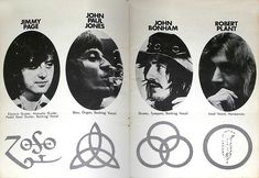 Led Zeppelin and their symbols | Tattoos | Pinterest | Led ...