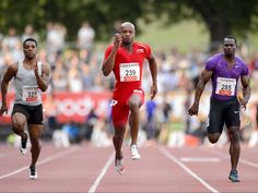 Jamaican sprinter who specialises in the 100 metres - Asafa Powell -