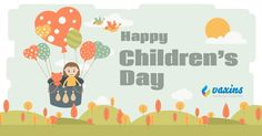 Children are budding stars, the more you embrace them the more they shine. Happy #Children's Day! #caredforyourlovedones