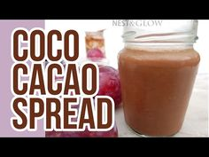 This Coco Cacao Chocolate Spread could not be easier to make – just blend together the three ingredients, chill and enjoy. I was amazed while visiting a chocolate factory in Indonesia that th… Cacao Chocolate, Chocolate Spread, Dairy Free Chocolate, Chocolate Factory, Vegan Desserts, Raw Food Recipes, Healthy Recipes, Whole Food Diet, Nutella