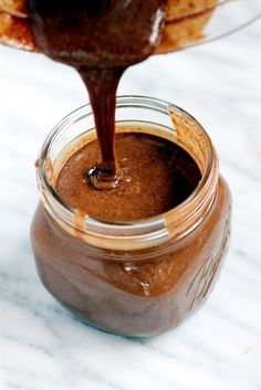 Incredible dark chocolate pecan butter with an extra sprinkle of sea salt. Wonderful on toast, fruit, pancakes or waffles!