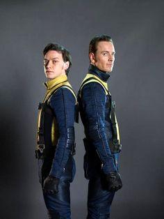 X-Men: First Class | Charles Xavier and Erik Lehnsherr