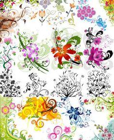 1000+ Free Vector Flower Designs
