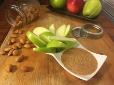 Green Apple with Almond Butter