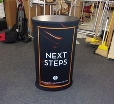 Citylight Church uses their Mobi counter to help guests and visitors take the next steps to get more involved! Portable Signs, Portable Display, Custom Printed Fabric, Church Design, Closet Storage, Kiosk, Church Ideas, Hospitality, Counter