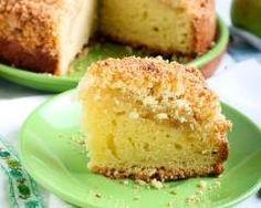 Apple crumble cake (gâteau-crumble aux pommes irlandais) : http://www.cuisineaz.com/recettes/apple-crumble-cake-gateau-crumble-aux-pommes-irlandais-78488.aspx