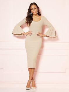 86ac2c07 Dresses for Women | New York & Company Eva Mendes Collection, Sheath  Dress,
