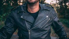 Leather Motorcycle Jacket For Men Moto Riding - Soomro