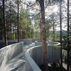 C-V. Hølmebakk: Sohlbergplassen Viewpoint.