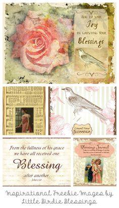 Inspirational Freebies by Little Birdie Blessings