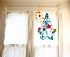 dear september: How to make pajaki chandeliers