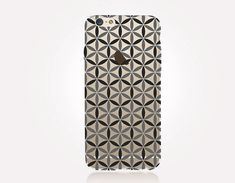 Transparent Flower of Life Phone Case - Transparent Case - Clear Case - Transparent iPhone 7 - Clear iPhone 7 Plus - Gel Case - iPhone SE