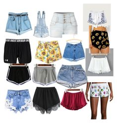 """""""Shorts"""" by daisywolfe on Polyvore featuring LE3NO, H&M, Abercrombie & Fitch, Chicnova Fashion and Marvel"""