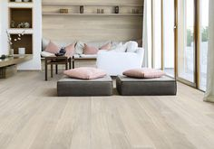 I want limed oak floors Tongue n Groove Timber Flooring - Colour Range Bistre limed blonde tones with subtle greys Tongue And Groove Timber, Home And Living, Living Room, Tapis Design, White Oak Floors, Floor Colors, Hardwood Floors, Interior Design, Home Decor