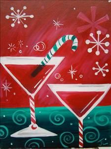 Santa S Helpers Sarasota Fl Painting Class Painting With A