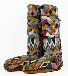 Boots. Nigeria, 1900.