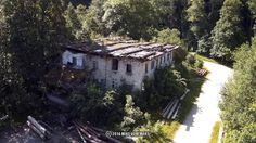 Luftaufnahmen: fpv flug in der nähe von schloss neuschwanstein